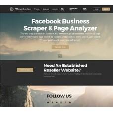 Facebook Business Scraper & Page Analyzer (1 year)