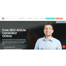 SEO Article Generator Reseller Website