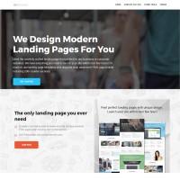 Online landing page website builder online business (Autopilot)