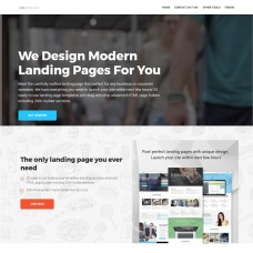 Online landing page website builder online business (Autopilot)