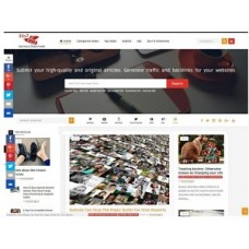 The Best Article Directory website for sale
