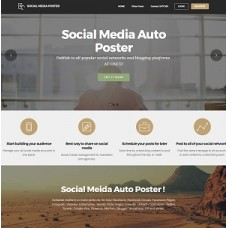 Social network Auto Poster Affiliate Website