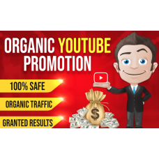 MANUALLY AND FAST YOUTUBE CHANEL OR VIDEO PROMOTION VIA REAL USER
