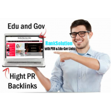20 PR9 Links+ 20 Edu-Gov Profile Backlinks from high AUTHORITY sites