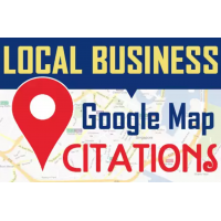 50 PIN POINT GOOGLE map CITATIONS-Grow your business