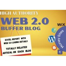 Create Superb 20 Web 2.0 Blog Backlinks With Image and Login Details