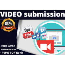 30 video submission on the top video sharing sites