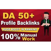 10+ white hat dofollow profile SEO backlinks with high da